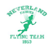 Tinkerbell - Flying Team of Neverland by AphrodianArt