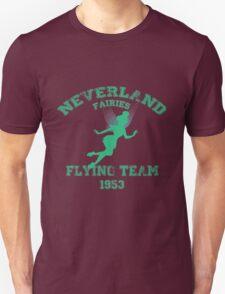 Tinkerbell - Flying Team of Neverland Unisex T-Shirt