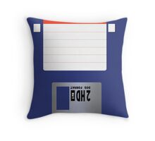 HD Diskette Throw Pillow