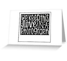 Photograph Greeting Card