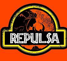 Jurassic Power Repulsa by tiranocyrus