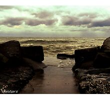Angry Erie Photographic Print