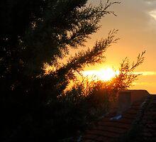 Ilinden Sunset by velkovski