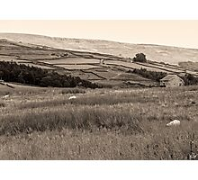 """""""The Dales"""", North Yorkshire, England Photographic Print"""
