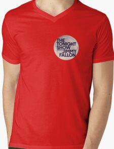 Tonight Show Starring Jimmy Fallon Mens V-Neck T-Shirt