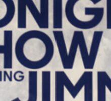 Tonight Show Starring Jimmy Fallon Sticker