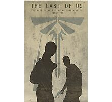 The Last Of Us Game Poster Photographic Print