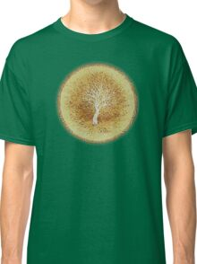 Ripples of Age - Growth rings - White Tree Classic T-Shirt