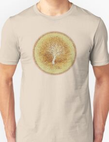 Ripples of Age - Growth rings - White Tree Unisex T-Shirt