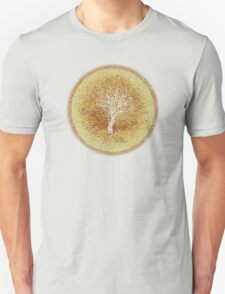 Ripples of Age - Growth rings - White Tree T-Shirt