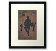 Battlefield Samper Fidelis Gaming Poster Framed Print