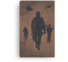 Battlefield Samper Fidelis Gaming Poster Canvas Print
