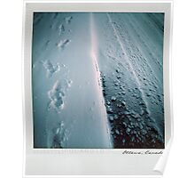 Snow Polaroïd Poster