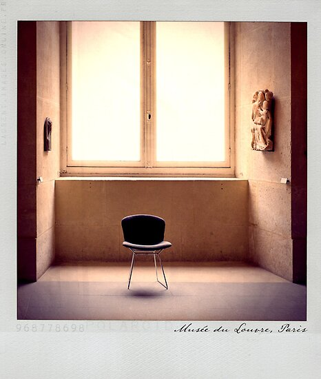 Louvre Polaroïd by Laurent Hunziker