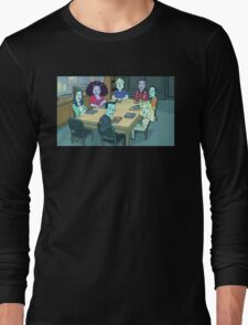Community Study Group Rick and Morty edition Long Sleeve T-Shirt