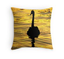 On golden pond... Throw Pillow