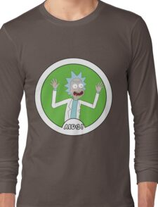 Rick and Morty: AIDS! Long Sleeve T-Shirt