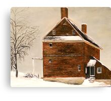 Old Hunting House from A Wyeth Canvas Print