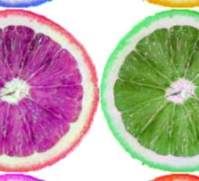 Sliced Fruit Sticker