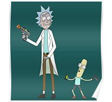 Rick and Mr. PoopyButthole Poster