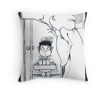 The Snackbearer Returns Throw Pillow
