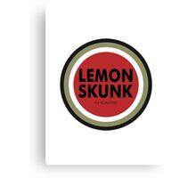 Lucky Lemon Skunk  Canvas Print