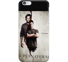 Supernatural iPhone Case/Skin