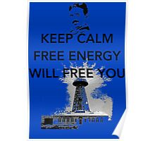 Keep Calm Tesla  Poster