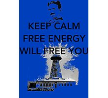 Keep Calm Tesla  Photographic Print