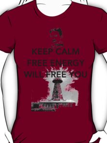 Keep Calm Tesla  T-Shirt
