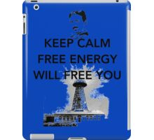 Keep Calm Tesla  iPad Case/Skin