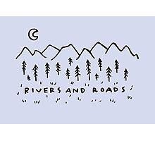 Rivers & Roads Photographic Print