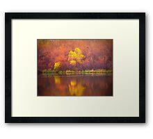 Paintbrush Trees Framed Print