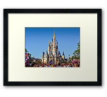 Magic Kingdom Castle Framed Print