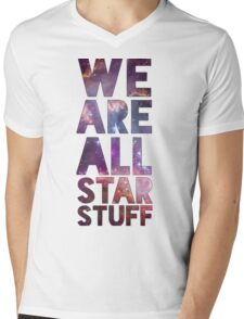 We Are All Starstuff Mens V-Neck T-Shirt