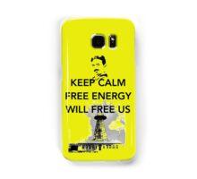 Keep Calm Tesla Free Us Samsung Galaxy Case/Skin
