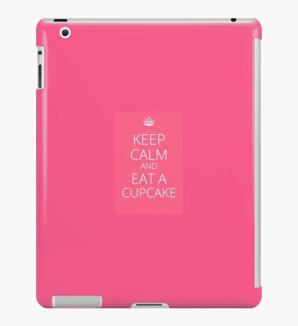 cupake slogan iPad Case/Skin