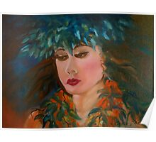 Merrie Monarch Hula Maiden Poster