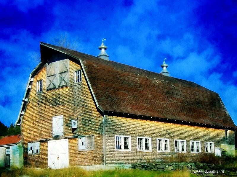 Preston Barn No. 2 by Debbie Robbins