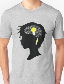 Creative Thinking Anime Boy - by Dakota5132 Unisex T-Shirt