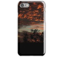 Red sky at night ... iPhone Case/Skin