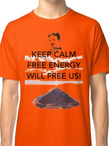 Keep Calm Bosnian Pyramid Classic T-Shirt