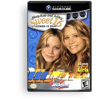 Mary Kate and Ashley Sweet 16 Licensed to Drive Canvas Print