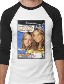 Mary Kate and Ashley Sweet 16 Licensed to Drive Men's Baseball ¾ T-Shirt