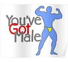 You've Got Male Poster