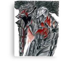 guts armor Canvas Print