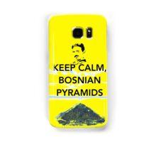 Keep Calm Tesla Bosnian Pyramids Samsung Galaxy Case/Skin