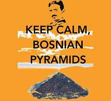 Keep Calm Tesla Bosnian Pyramids Unisex T-Shirt