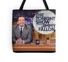 Tonight Show Jimmy Fallon Tote Bag