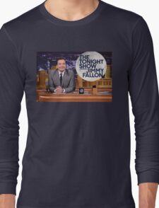 Tonight Show Jimmy Fallon Long Sleeve T-Shirt